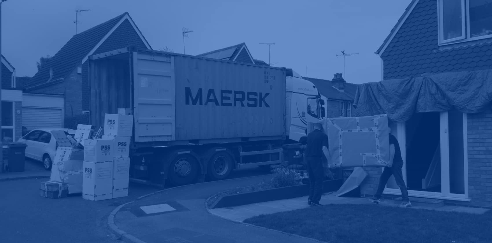 International removals packing